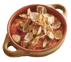 アサリと白菜のペンネチーズグラタン