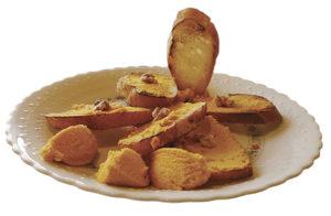 バターナッツカボチャのカナッペ