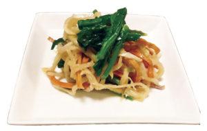 カラフル切り干し大根と菜花のサラダ